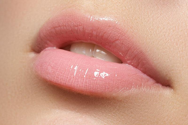 潤いのある唇